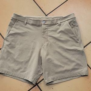 Lululemon commission khaki shorts